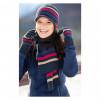 Набор шапка, шарфик и перчатки. купить в интернет магазине конной амуниции