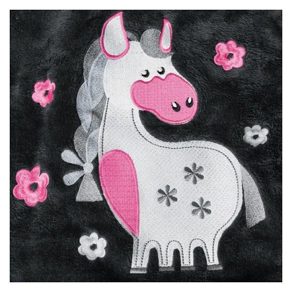 Толстовка Flower Pony детская, black-forest купить в интернет магазине конной амуниции