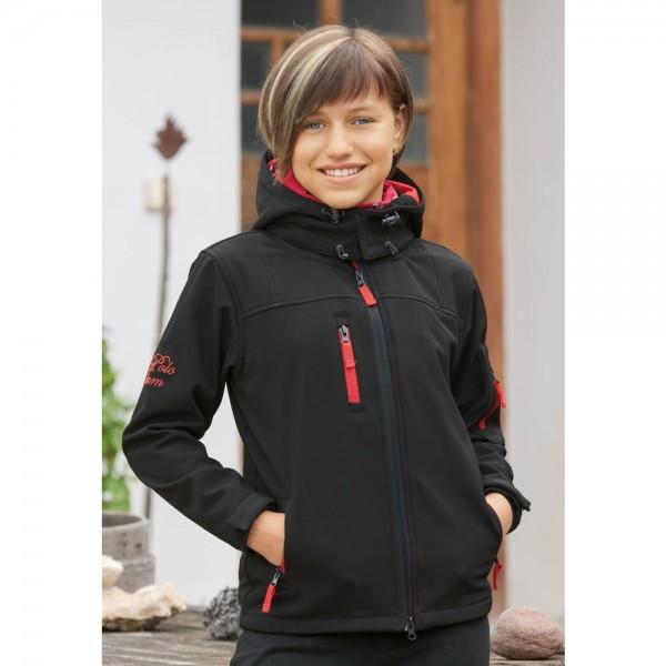 """Куртка детская""""Softshell"""", L-Polo Team купить в интернет магазине конной амуниции"""