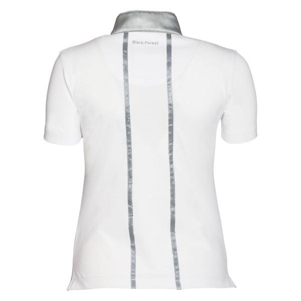 Рубашка турнирная, black forest белая купить в интернет магазине конной амуниции