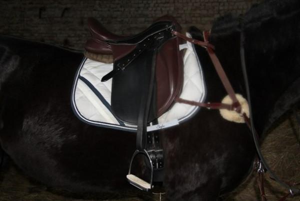 Седло с наружными упорами купить в интернет магазине конной амуниции
